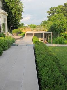 Formal structural garden - contemporary - Spaces - London - Charlotte Rowe Garden Design