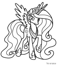 68 Best My Little Pony Coloring Pages Images