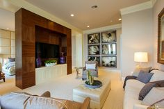Master bedroom in a South Ocean Blvd. residence, FL. Claremont Companies, Bridgewater, MA.