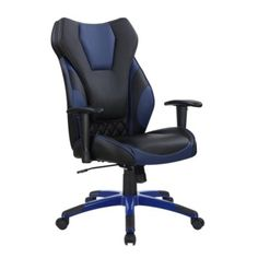 anji modern highback leather executive office desk task computer