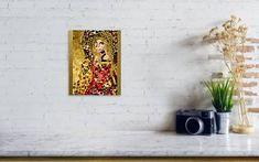 Order your portrait in the style of Gustav Klimt Poster by Irina Bast Karla Gerard, Thing 1, Owl Art, All Poster, Sacred Art, Beautiful Paintings, Fine Art America, Original Paintings, Art Prints