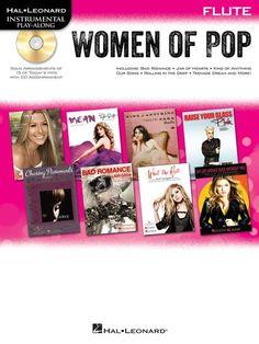 Hal Leonard Instrumental Play Along: Women Of Pop - Flute - Book & CD. £8.95