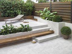 Outdoor Rooms, Outdoor Living, Outdoor Furniture Sets, Outdoor Decor, Outdoor Cafe, Backyard Patio, Backyard Landscaping, Exterior Stairs, Craftsman Exterior