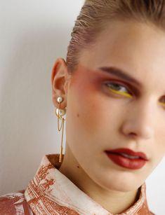 Vogue Makeup, Vogue Beauty, Glam Makeup, Makeup Inspo, Makeup Art, Makeup Inspiration, Beauty Makeup, Eye Makeup, Hair Makeup