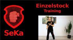 Einzelstock: Training von Schlagkombinationen und Drills