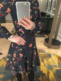 Autumn Fashion 2018, Floral, Skirts, Dresses, Vestidos, Gowns, Flowers, Dress, Skirt
