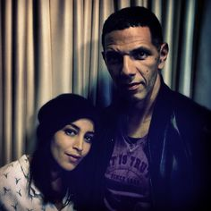 Leila Bekti et Roschdy Zem