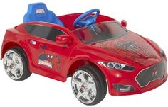 Spider Man 6V Speed Electric Battery Powered Coupe Kids Bikes Riding Toys #SpiderMan