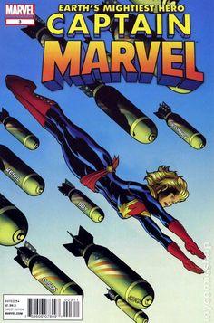Captain Marvel (2012 7th Series) 3 comic book cover heroine