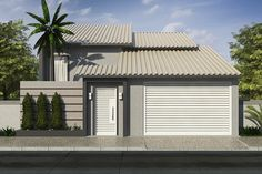 Custo de obra por m2. Confira o custo para construir. Casa com pé direito alto e área de luz