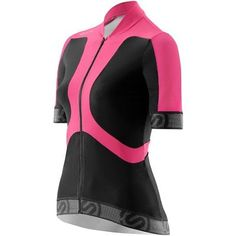 Skins Cycle Women's Tremola Jersey Short-sleeve Black/Pink Small