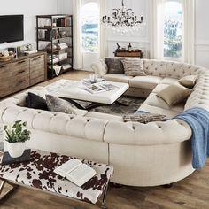 Erstaunlich, Getuftet Sofa Sektionaltore   Schreibtisch Das Wohnzimmer Ist  Der Am Meisten Bewunderten Ort Des