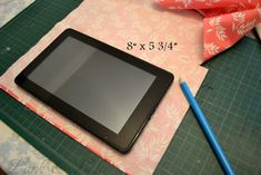 Lark & Lola: Sew a Pretty Kindle or Tablet Cover - Tutorial!