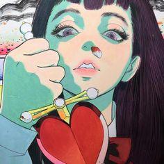 photography and illustration Art And Illustration, Illustrations, Kunst Inspo, Art Inspo, Pretty Art, Cute Art, Aesthetic Art, Aesthetic Anime, Manga Art