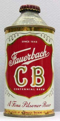 Fauerbach Centennial Brew Beer Can
