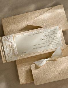 elegant invitations by Hannah Handmade