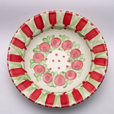 pals Teller, Plates, Tableware, Red, Green, Tablewares, Licence Plates, Dishes, Dinnerware