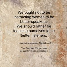 The Eloquent Woman's weekly speaker toolkit Famous Speeches, Womans Weekly, Public Speaking Tips, Best Speakers, Good Listener, Woman Quotes, Great Quotes, Helpful Hints, Wisdom