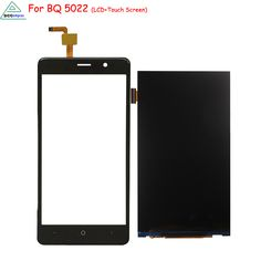 Original For BQ 5022 LCD Display Touch Screen Digitizer Assembly Mobile Phone Parts for BQ5022 Screen LCD Free Tools