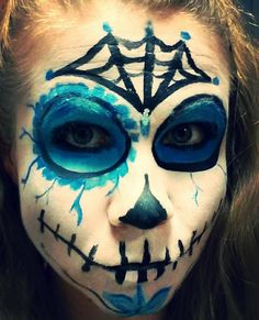 Halloween costume! Sugar skull, day of the dead