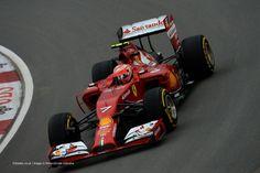 Kimi Raikkonen, Ferrari, Circuit Gilles Villeneuve, Friday practice, 2014