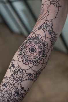 Been really liking mandalas lately. Had a dream I had one. I take tattoo inspiration from dreams now..