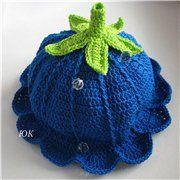Ridge Hat free crochet pattern - pattern here: http://club.osinka.ru/topic-51742?p=4518678#4518678 (in Russian)