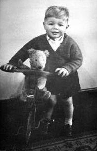 Little boy with Teddy bear.