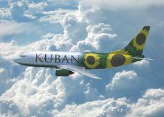 Kuban airlines plane