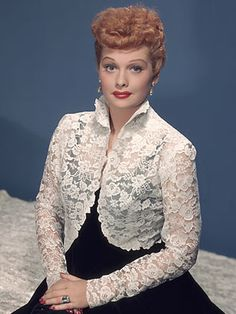 TOP TEN REDHEADS  Lucille Ball ~ When the first episode of I Love Lucy aired in October 1951, no one expected its main actress, Lucille Ball, to become a Hollywood superstar. Ball was a 40-year-old redhead who had been working in show business for two decades without a big break. But by the time the show (in its many incarnations, including The Lucy-Desi Comedy Hour and The Lucy Show) went off the air in 1974, she had become a household staple in more than 80 countries.