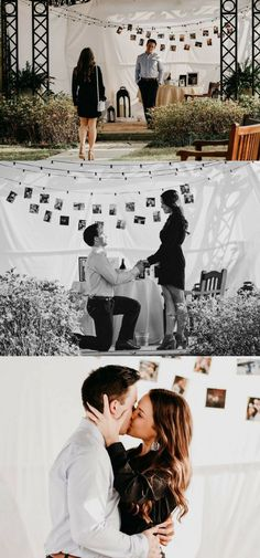 """He proceeded to shower me with words of his plans for our future, hopes for our relationship, prayers for our love, and excitement for our family before kneeling and asking me to be his wife!"" (How To Get Him To Propose Ideas) Cute Proposal Ideas, Proposal Pictures, Romantic Proposal, Perfect Proposal, Creative Proposal Ideas, Romantic Weddings, Wedding Pictures, Wedding Proposals, Marriage Proposals"