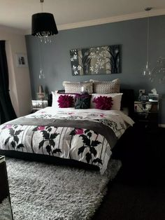 27 Small Master Bedroom Decor Ideas ~ Home And Garden Home Decor Bedroom, Living Room Decor, Bedroom Ideas, Bedroom Designs, Small Master Bedroom, Teen Bedroom, Dream Rooms, Dream Bedroom, Beautiful Bedrooms