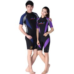 52.02$  Know more  - 1.5MM male and female models wet piece short sleeve diving suits snorkeling suits windsurfing clothing supplies