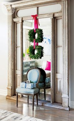 The Pink Pagoda: Christmas Wreaths