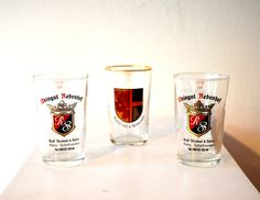 1950's Set of 3 Vintage Antique German by ZenVintageCollection