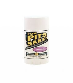 For Pits Sake! Lavender Deodorant