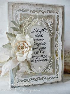 spellbinders card gallery | Ślubuję Ci ... - Gallery of handicrafts 9-24-13