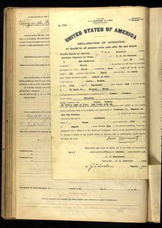 Sam Slomovitz Age: 26 Birth Date: 15 Sep 1889 Birth Place: Lubtz, Russia Record Date: 17 Jan 1916 Court District: Southern District of Texas Court Place: Houston, Texas, USA Record Type: Naturalization Petition Declaration Number: 1517  Petitions for Naturalization, 1907-09/30/1991; National Archives Publication: 571499; Record Group Title: Records of District Courts of the United States; Record Group Number: RG 21.