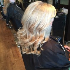 Halosalon buffalo Goldwell blonde by Whitney