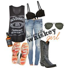 """""""whiskey girl"""" change the boots to my Docs"""