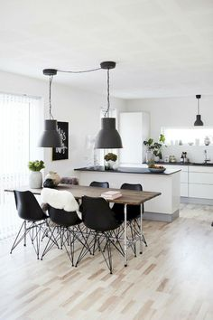Thanks for visiting our Scandinavian dining rooms photo gallery where you can search lots of dining room design ideas. This is our main Scandinavian dining room design gallery where you can browse … Room Design, Interior, Dining Room Design, Dining Room Interiors, Home Decor, Room Inspiration, Dining Room Decor, Scandinavian Dining Room, Dining Room Chandelier