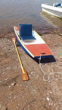 A water wagon type boat for fishing small bodies of water. You can hook up either a 2.5hp gas ...