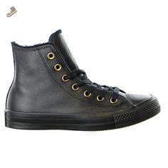 Converse Womens Chuck Taylor All Star Winter Knit + Fur Hi Top Fashion Sneaker Boot Shoe, Black, 7.5 - Converse chucks for women (*Amazon Partner-Link)