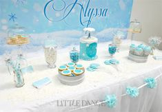 Frozen-Party-Dessert-Table-2-(1).jpgFrozen Birthday Party invitations and decor on the Blog at Little Dance Invitations.  http://www.littledanceinvitations.com.au/Blog/November-2014/Frozen-Inspired-Birthday-Party