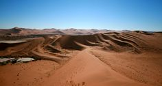 View from Dune - (Namibia, 2007) - Copyright Arnaud Vaschalde