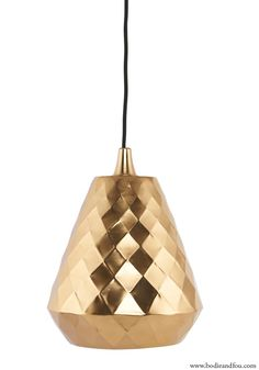 New! Aston brass pendant light from Bodie and Fou — Bodie and Fou - Award-winning inspiring concept store