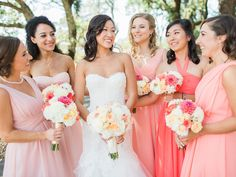 Pink & White Vineyard Nuptials in the California Sun | Napa + Sonoma, CA