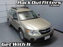 Subaru Outback Wagon Thule Crossroad SQUARE BAR Roof Rack '00-'14*