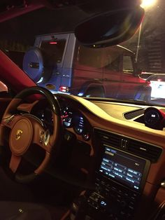 Ferrari / Mercedes G Wagon Mercedes G Wagon, Mercedes Amg, Applis Photo, Late Night Drives, Bmw Girl, Cute Car Accessories, Mirror Pic, Night Driving, Instagram And Snapchat