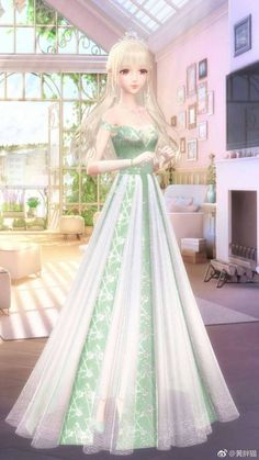 Fashion Model Poses, Fashion Models, Nikki Love, Female Character Inspiration, Cute Anime Character, Anime Dress, 3d Girl, Fantasy Dress, Anime Outfits